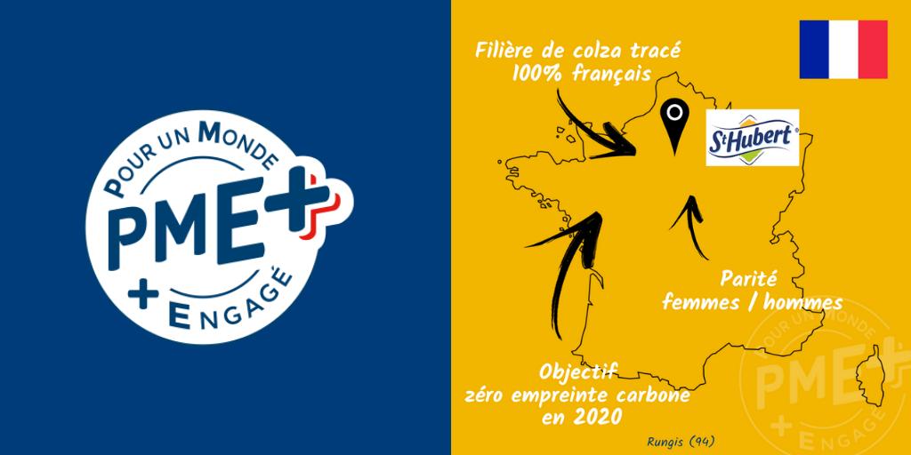 St-Hubert vient d'obtenir le label PME+